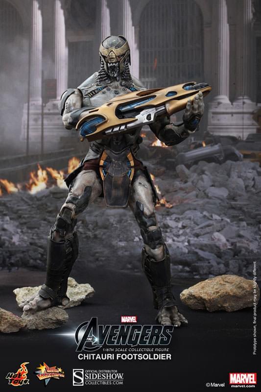 Fin de partie 6-inch Scale Figure Chitauri Marvel Avengers