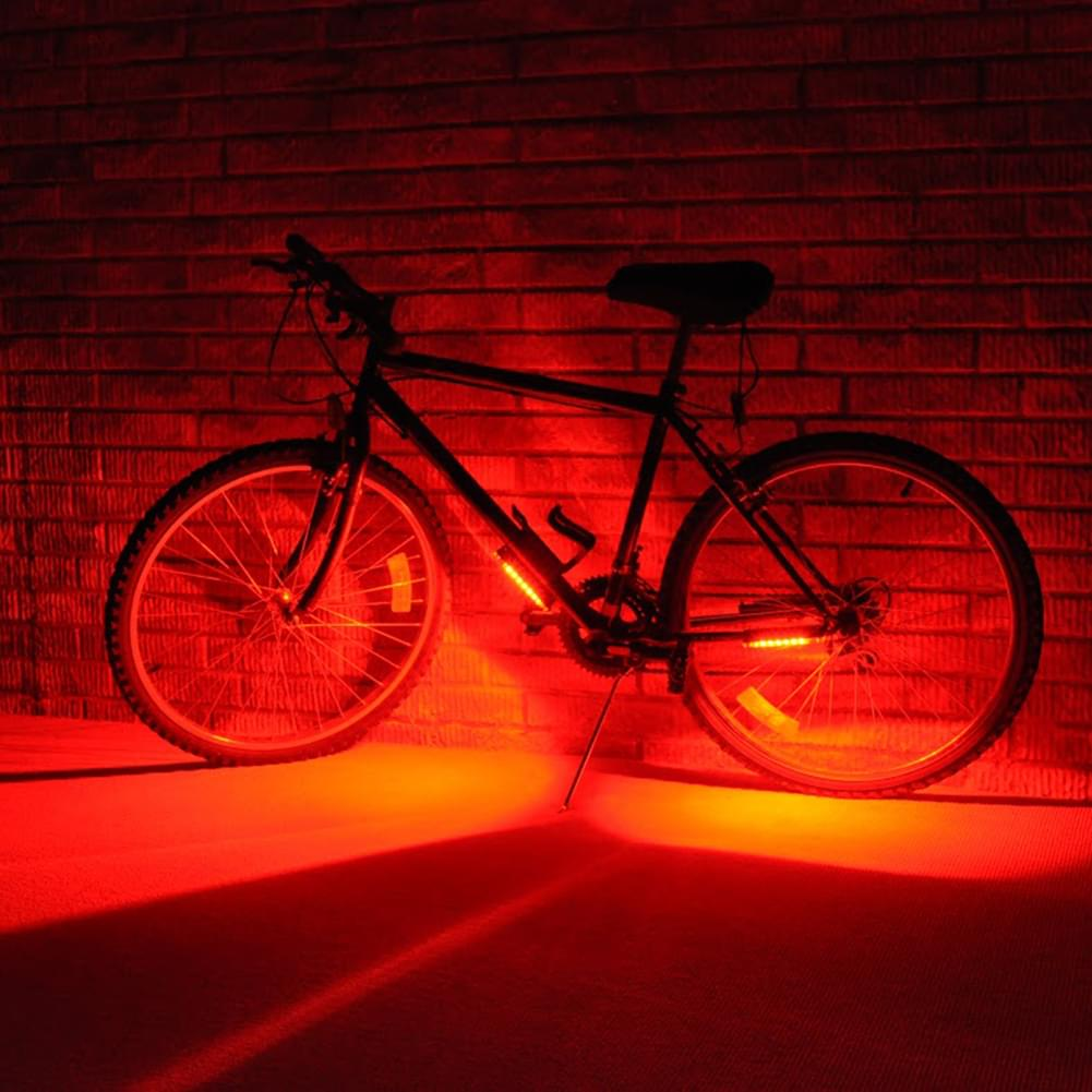 Go Brightz Red LED Bicycle Safety Light Cycling Bike Accessory