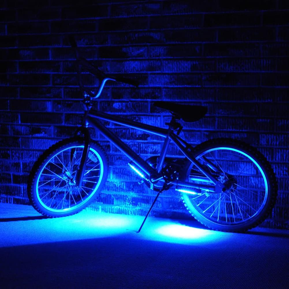 Brightz LED Bicycle Safety Light Cycling Bike Accessory Blue