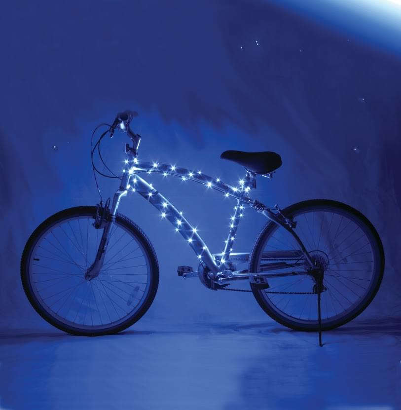 Cosmic Brightz Blue LED Bicycle Safety Light Accessory