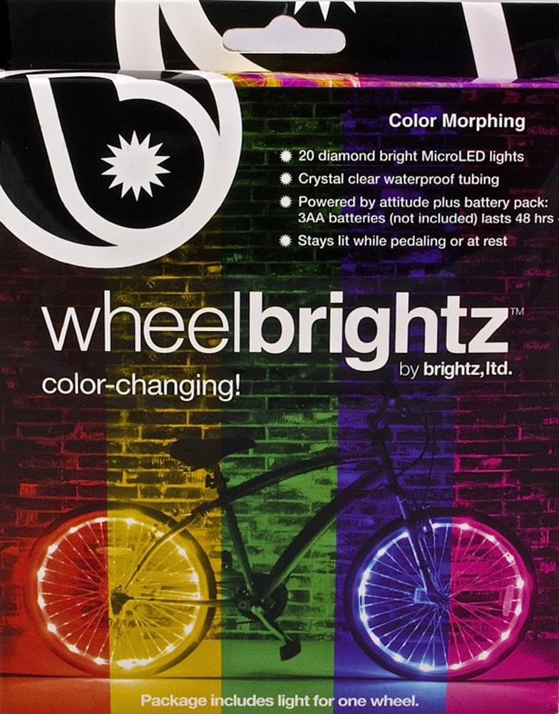 Color Morphing Wheel Brightz LED Bicycle Light