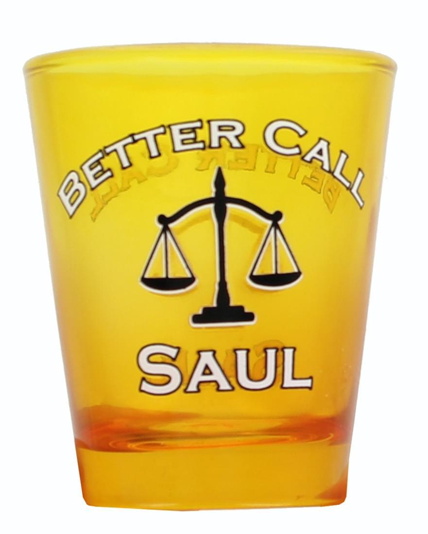 Better Call Saul Yellow 1.5oz Shot Glass