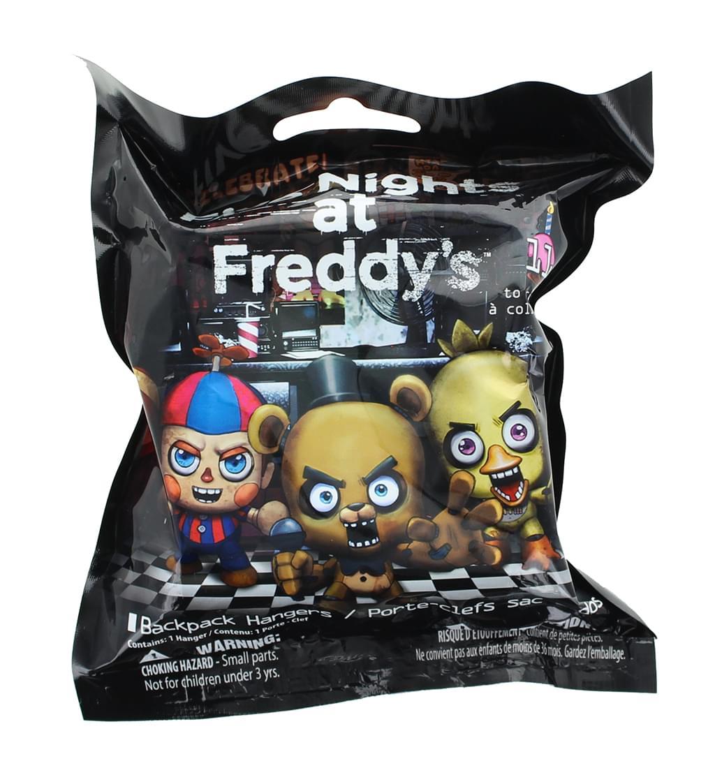 Five Nights at Freddy's Backpack Hangers - One Random