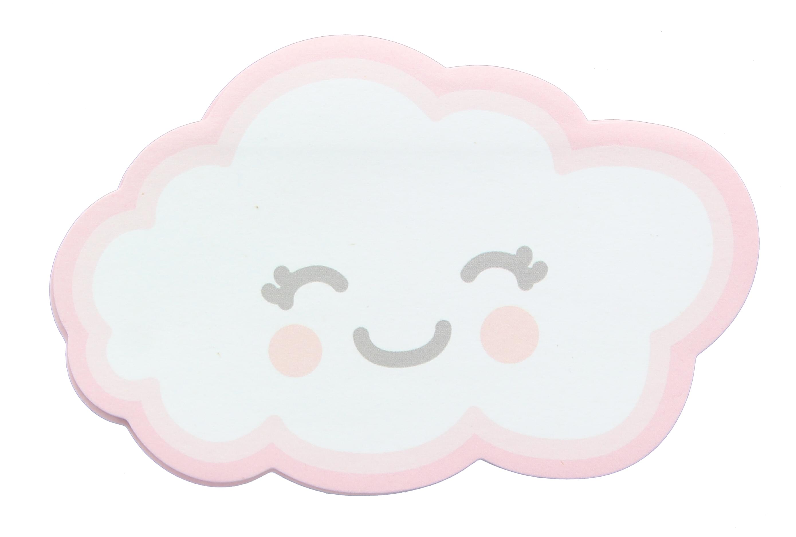 Glitter Galaxy Sticky Notes - Cloud