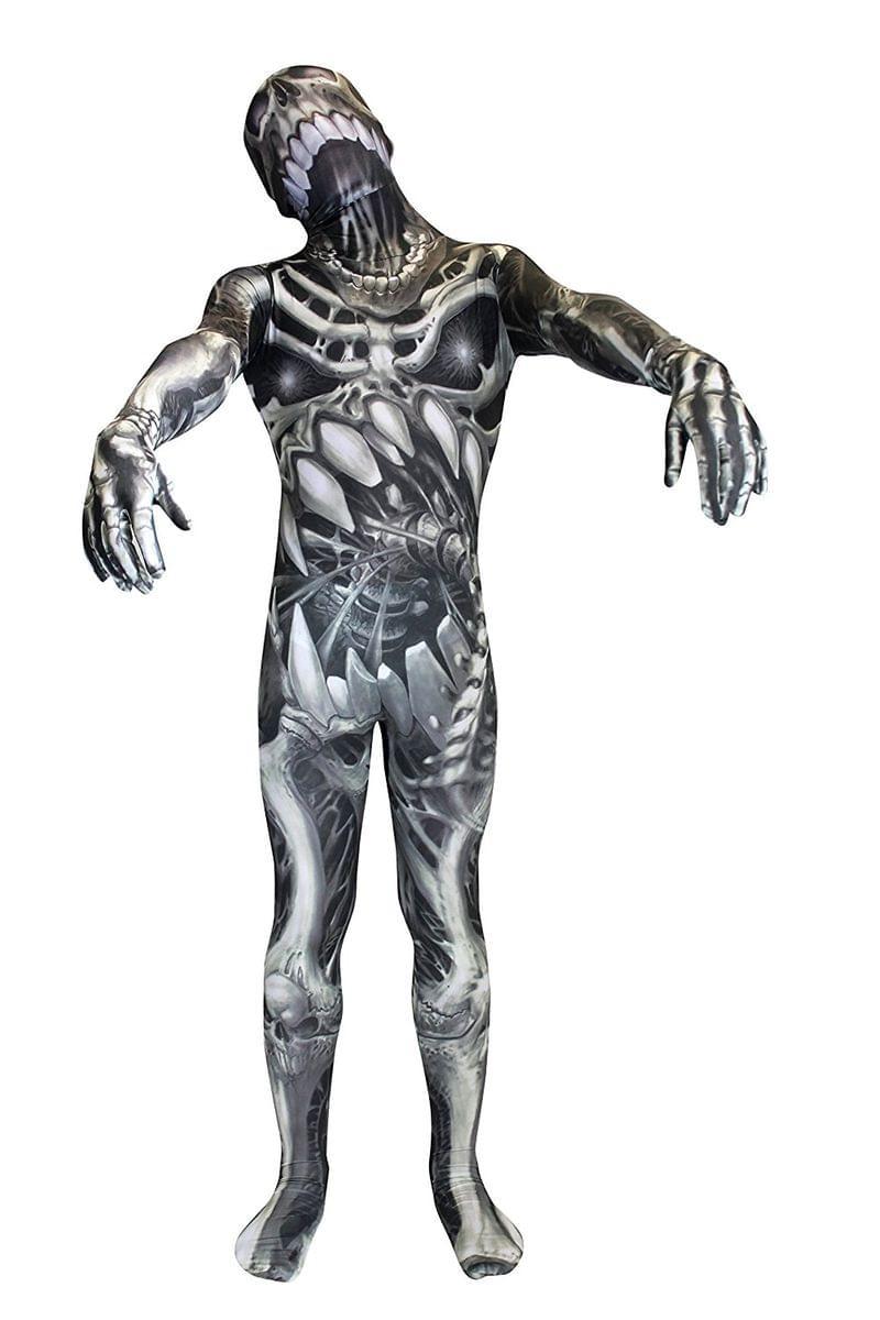 Skull N Bones Morphsuit Costume Child Small 887513013082  9948790f655