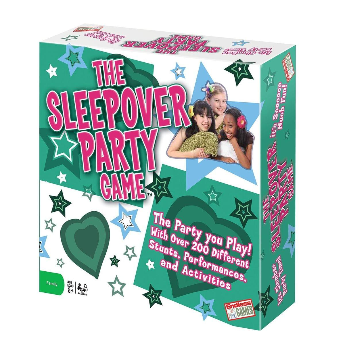The Sleepover Party Card Game