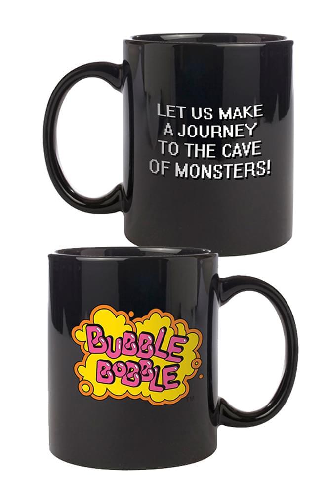Bubble Bobble Logo Ceramic Coffee Mug