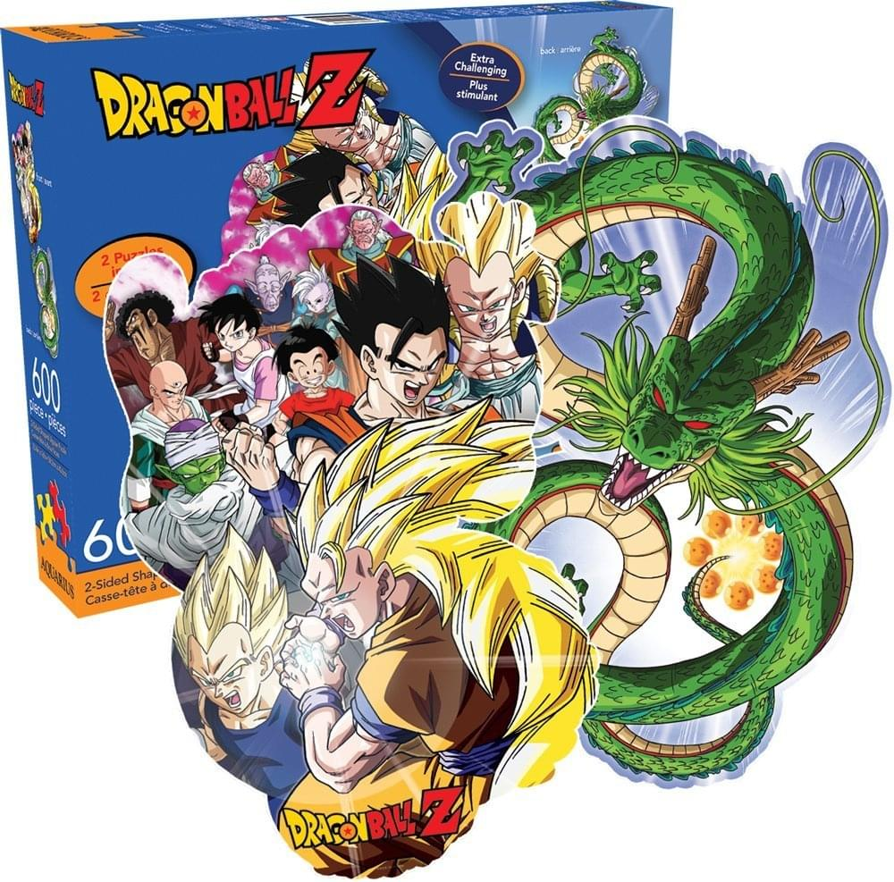 Dragon Ball Z 600-Piece 2-Sided Jigsaw Puzzle