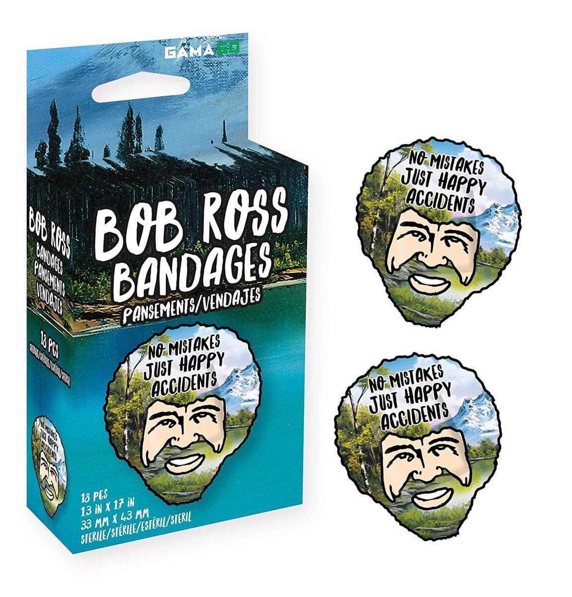 Bob Ross Bandages, 18 Pieces
