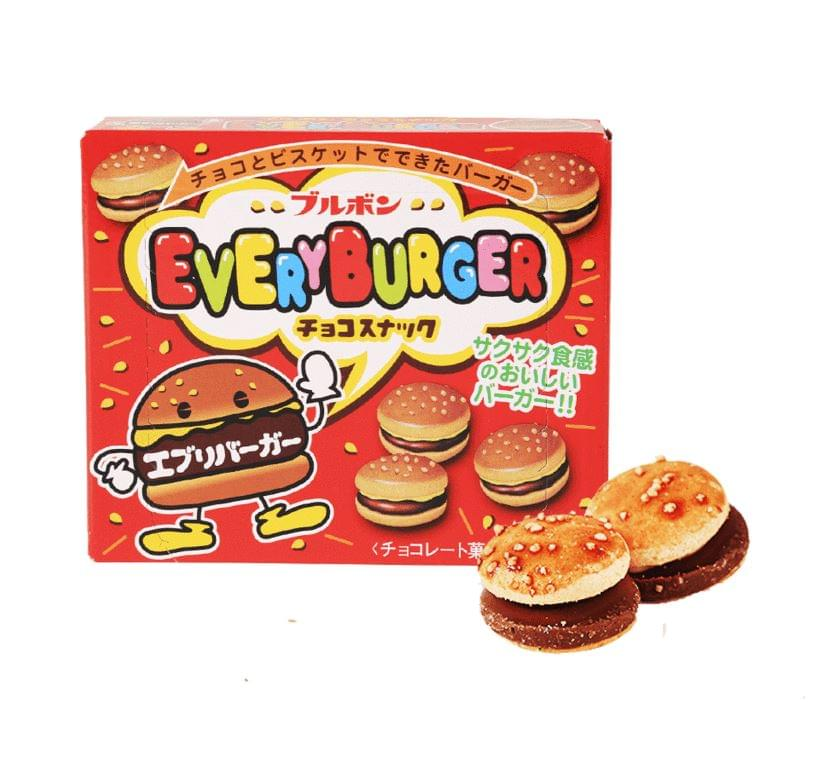 Bourbon Every Burger Chocolate & Sesame Cookies - 2.3 oz Pack