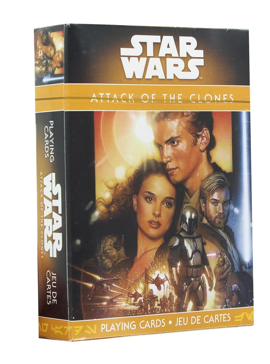 Star Wars Attack of the Clones Playing Cards