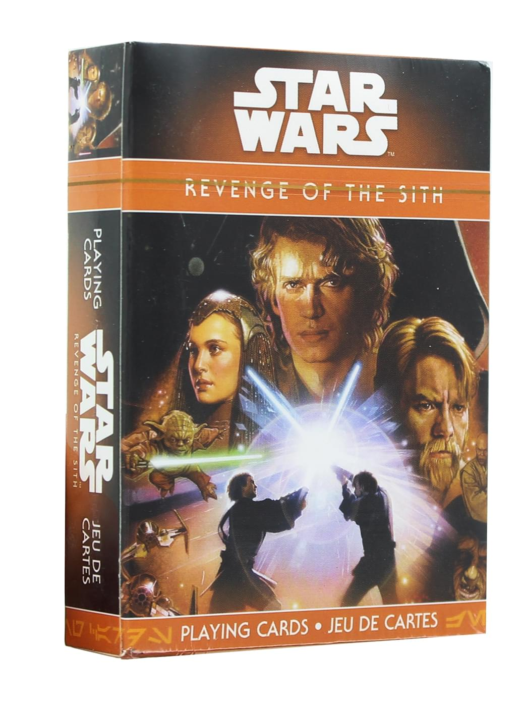 Star Wars Revenge of the Sith Playing Cards