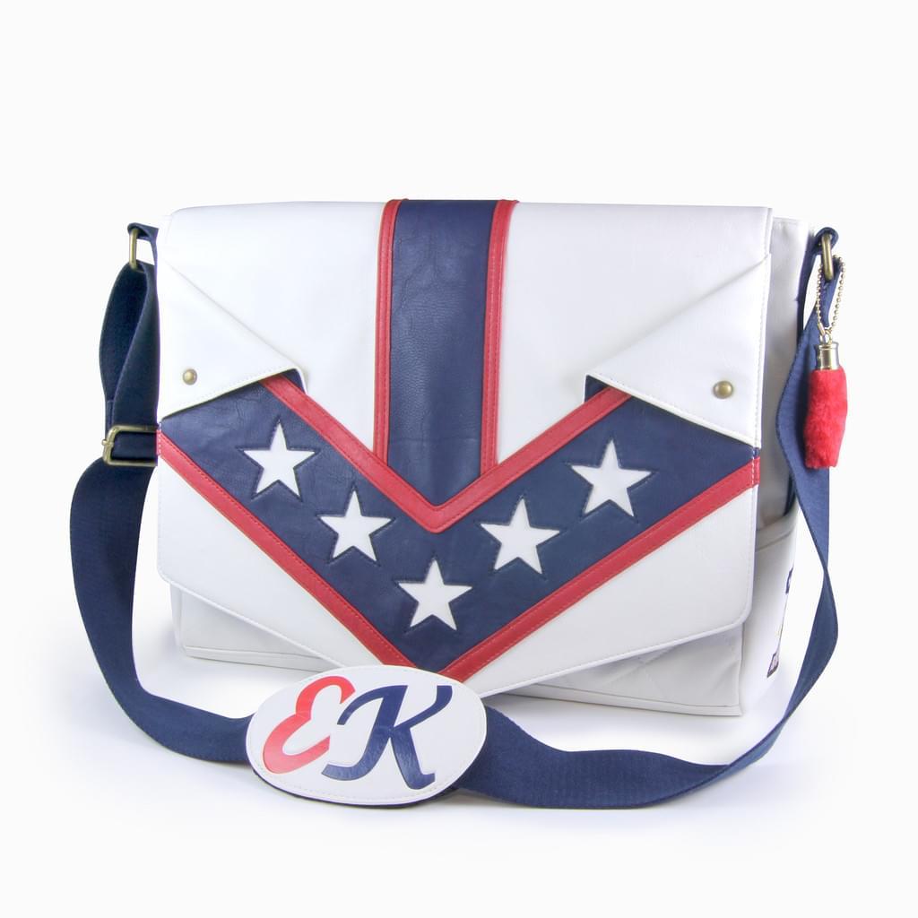 Evel Knievel Jumpsuit Messenger Bag