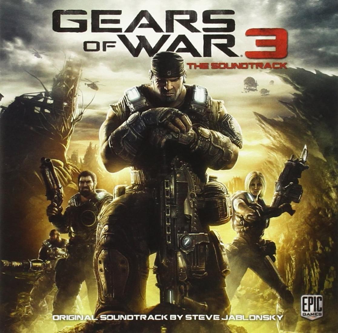 Gears of War 3 Original Soundtrack CD