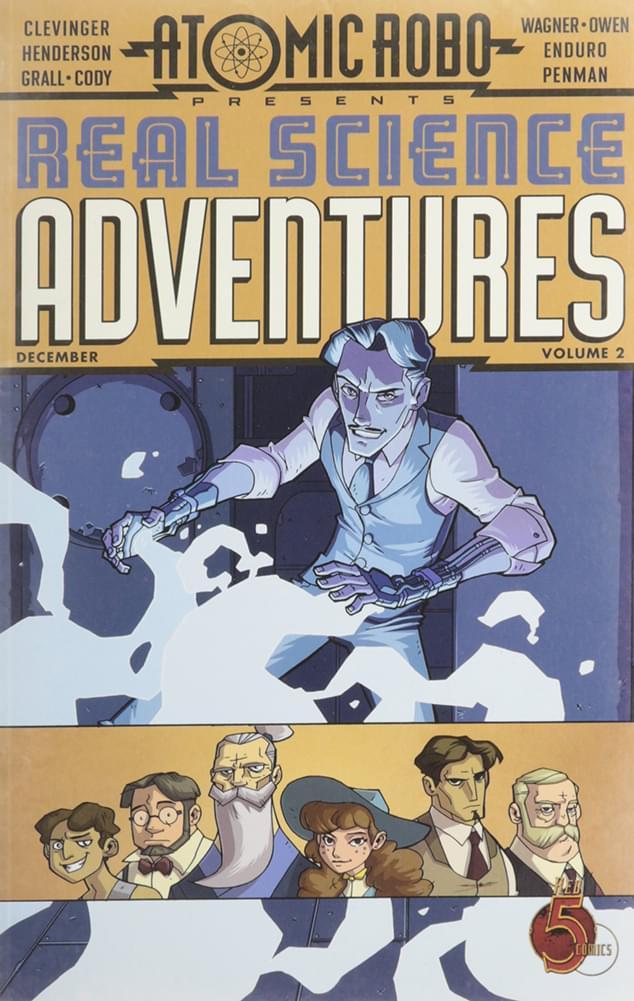 Atomic Robo Presents Real Science Adventures, Vol.2 Comic Book