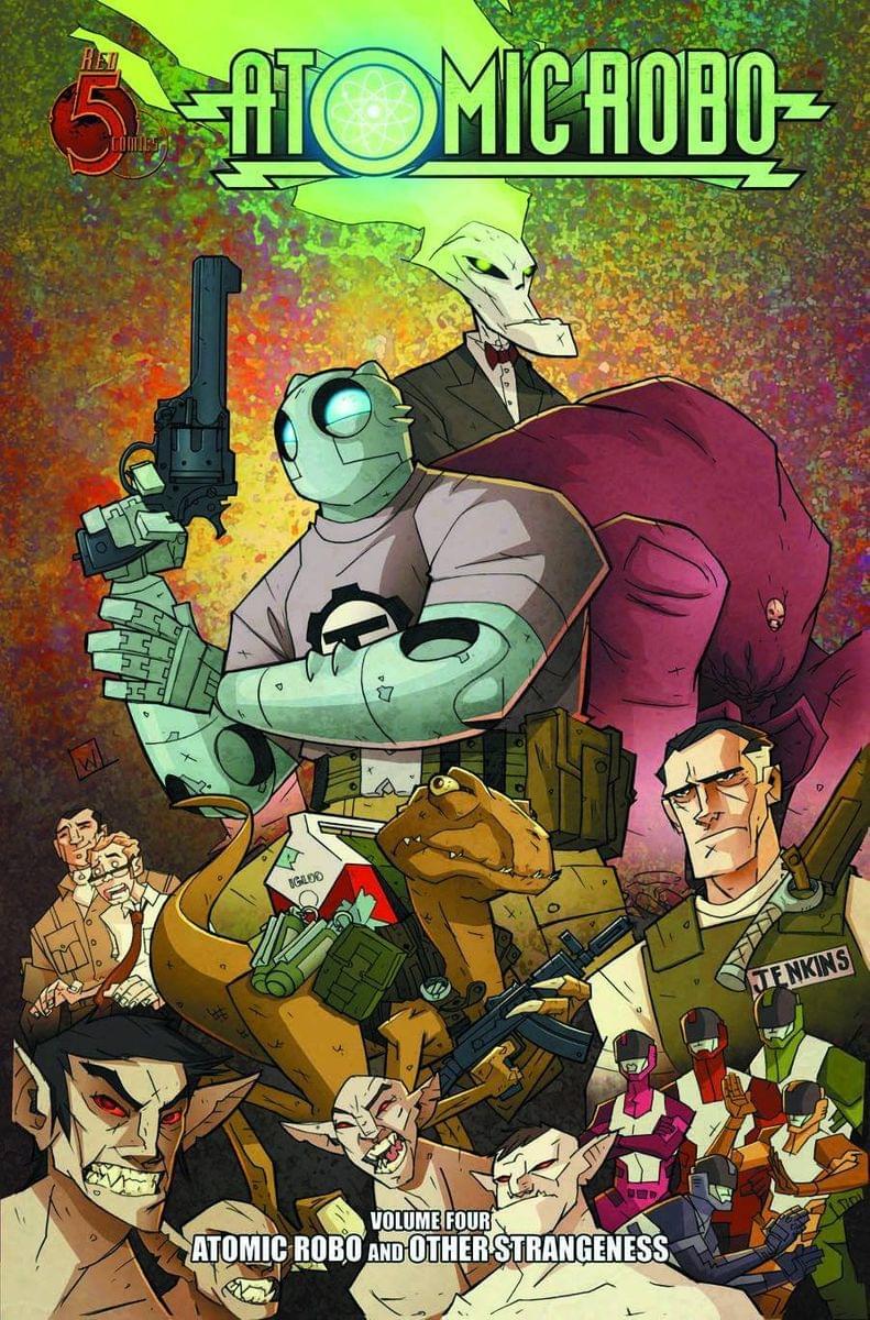 Atomic Robo Comic Book Vol. 4: Other Strangeness