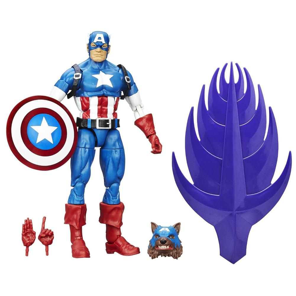 Captain America Marvel Legends 6