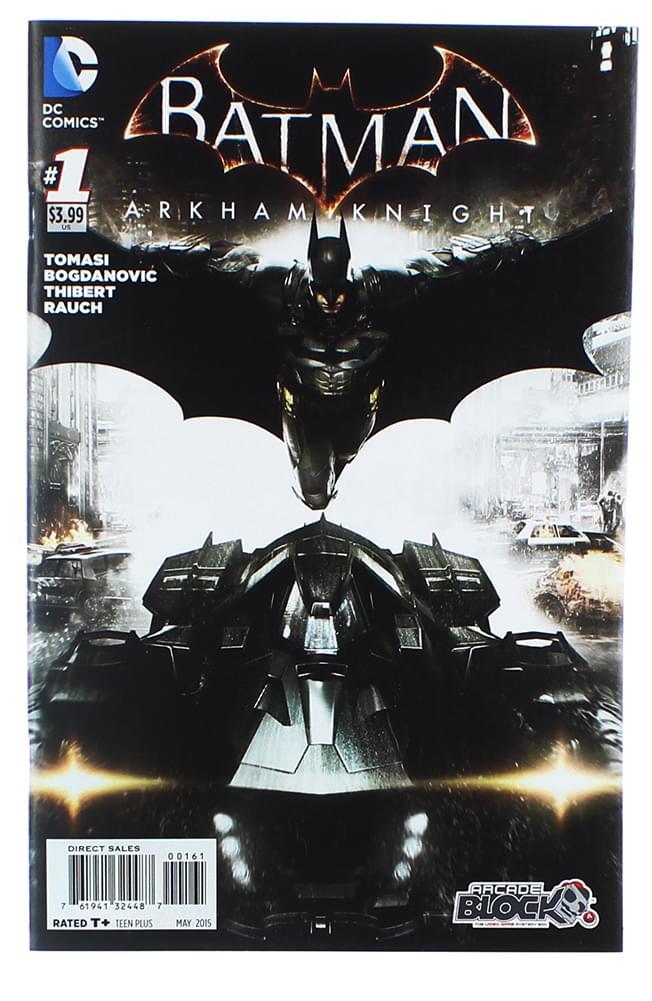 Batman Arkham Knight #1 Variant Comic Book (Arcade Block Cover)