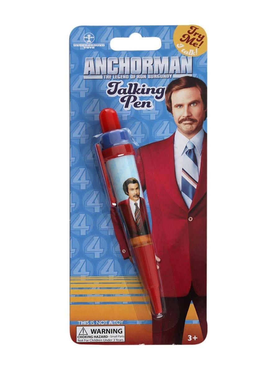 Anchorman The Legend of Ron Burgundy Talking Pen