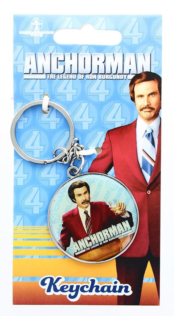 Anchorman The Legend of Ron Burgundy Keychain