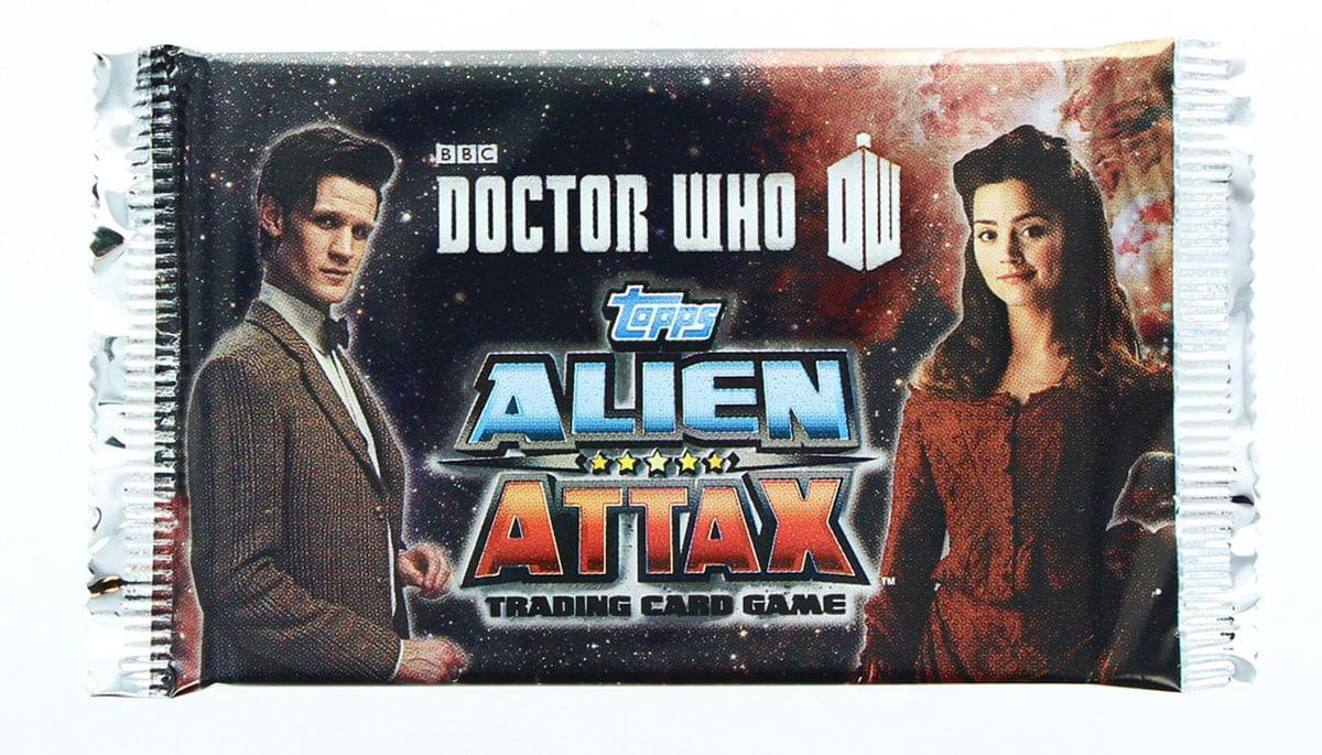 Doctor Who Alien Attax Booster Pack Trading Card Game
