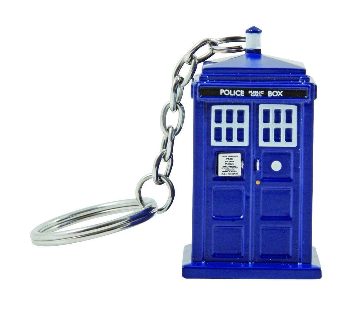 Doctor Who TARDIS Key Chain Flashlight