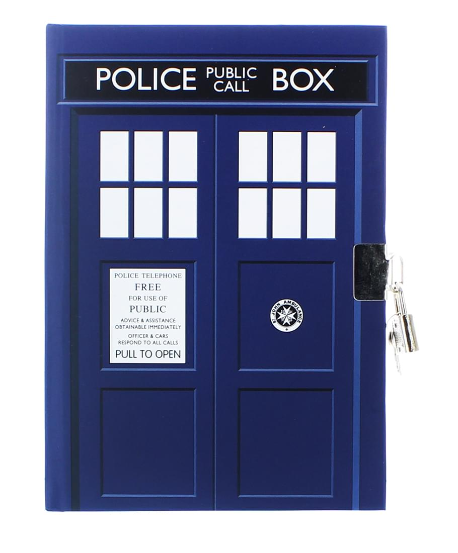 Doctor Who TARDIS Lock and Key 6