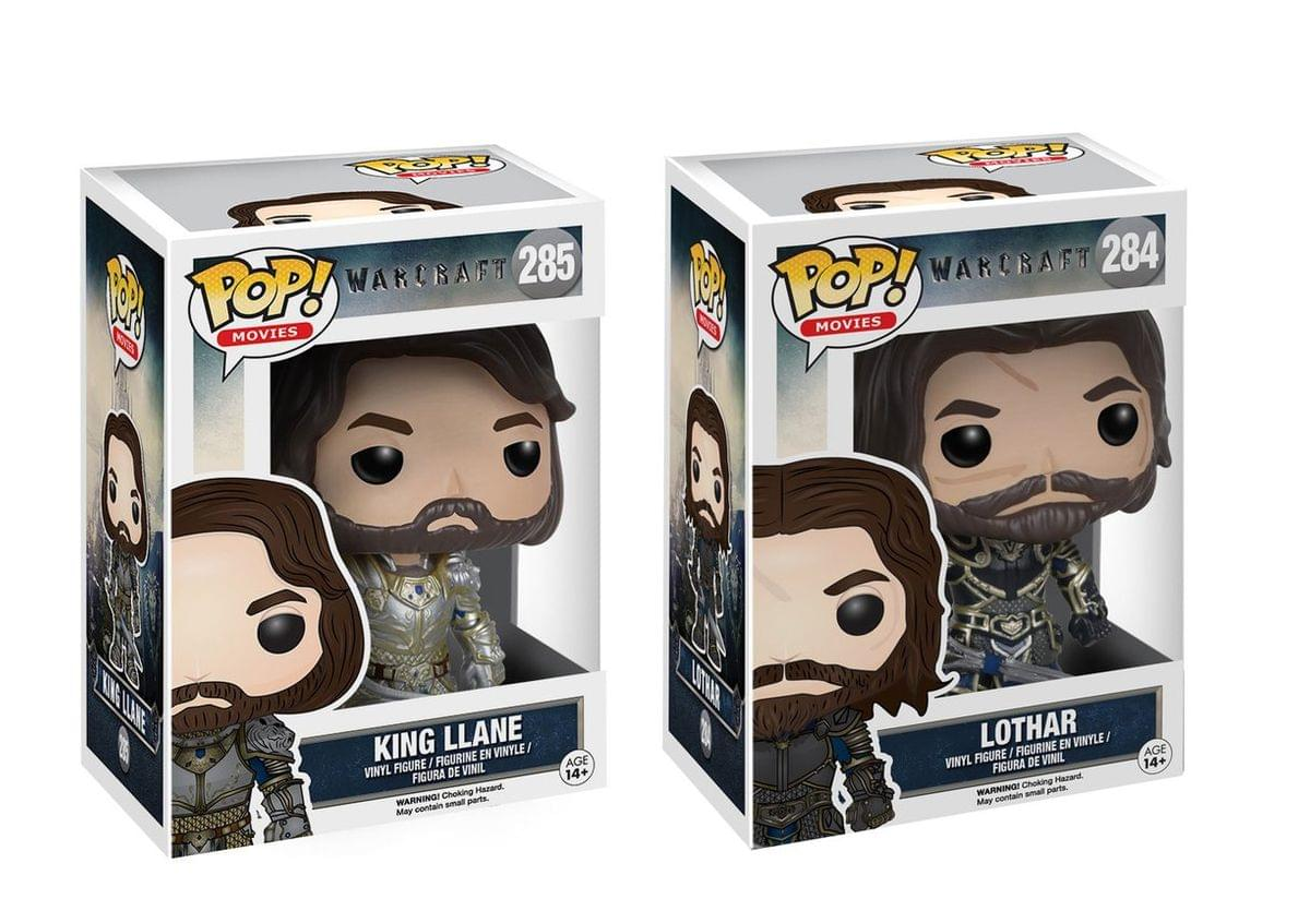 vinyle warcraft film-roi Llane collection figurine modèle nº 285 Funko POP