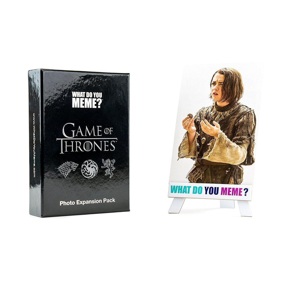 What Do You Meme? Card Game: Game of Thrones Photo Expansion Pack, 75 Cards