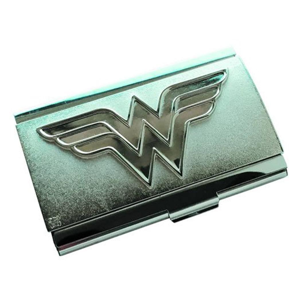 Wonder Woman Logo Metal Card Case