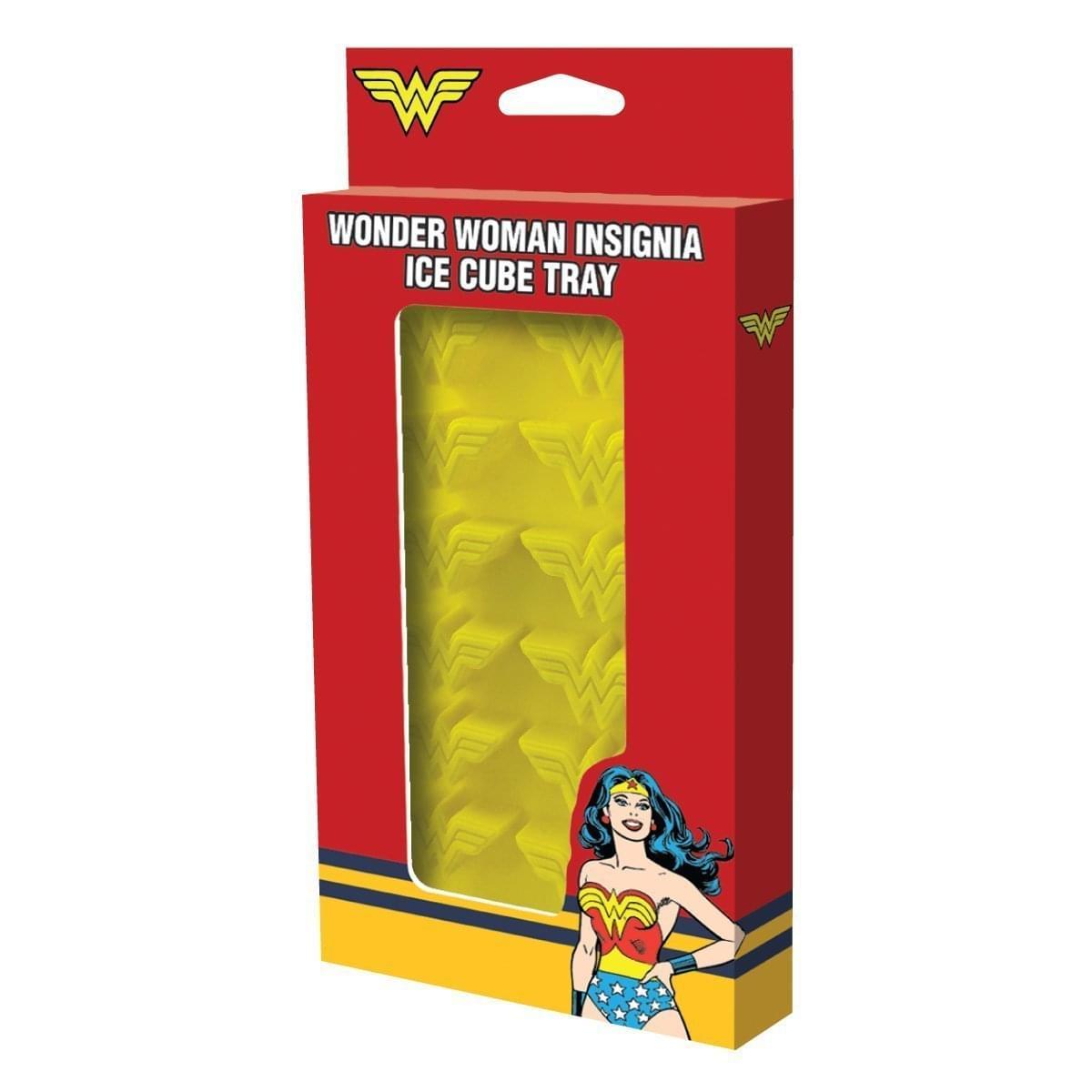DC Comics Wonder Woman Logo Flexible Ice Cube Tray
