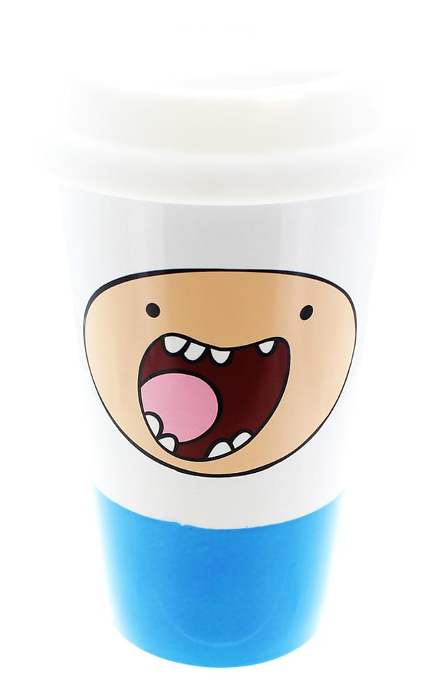 Adventure Time Finn 16oz Ceramic Travel Mug
