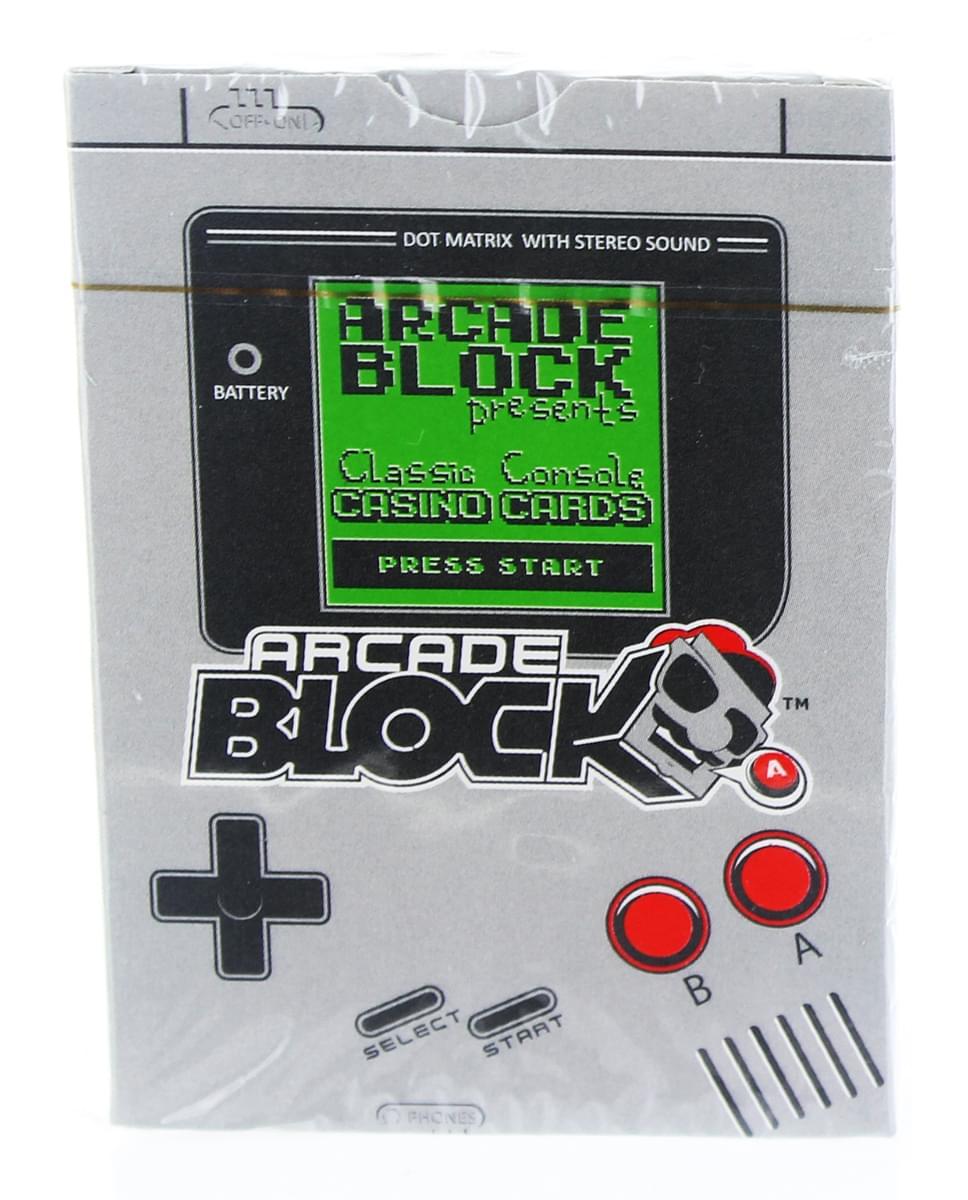 Arcade Block Classic Console Casino Cards