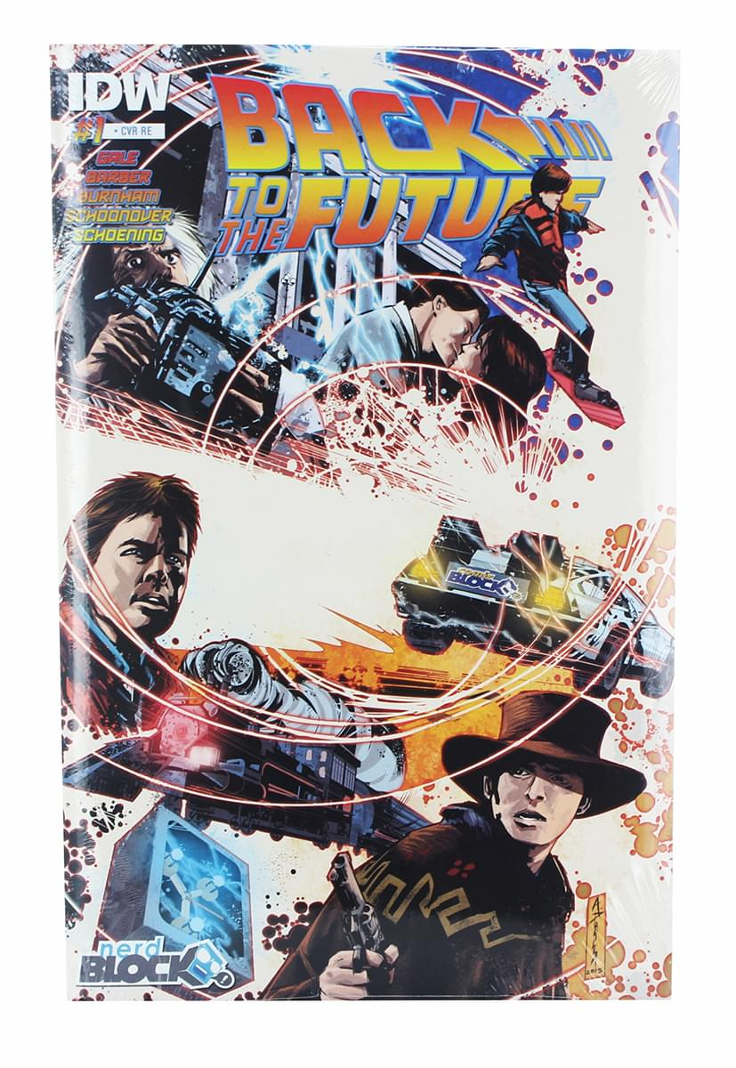 Back To The Future Issue #1 Comic Book (1:10 Variant Cover)