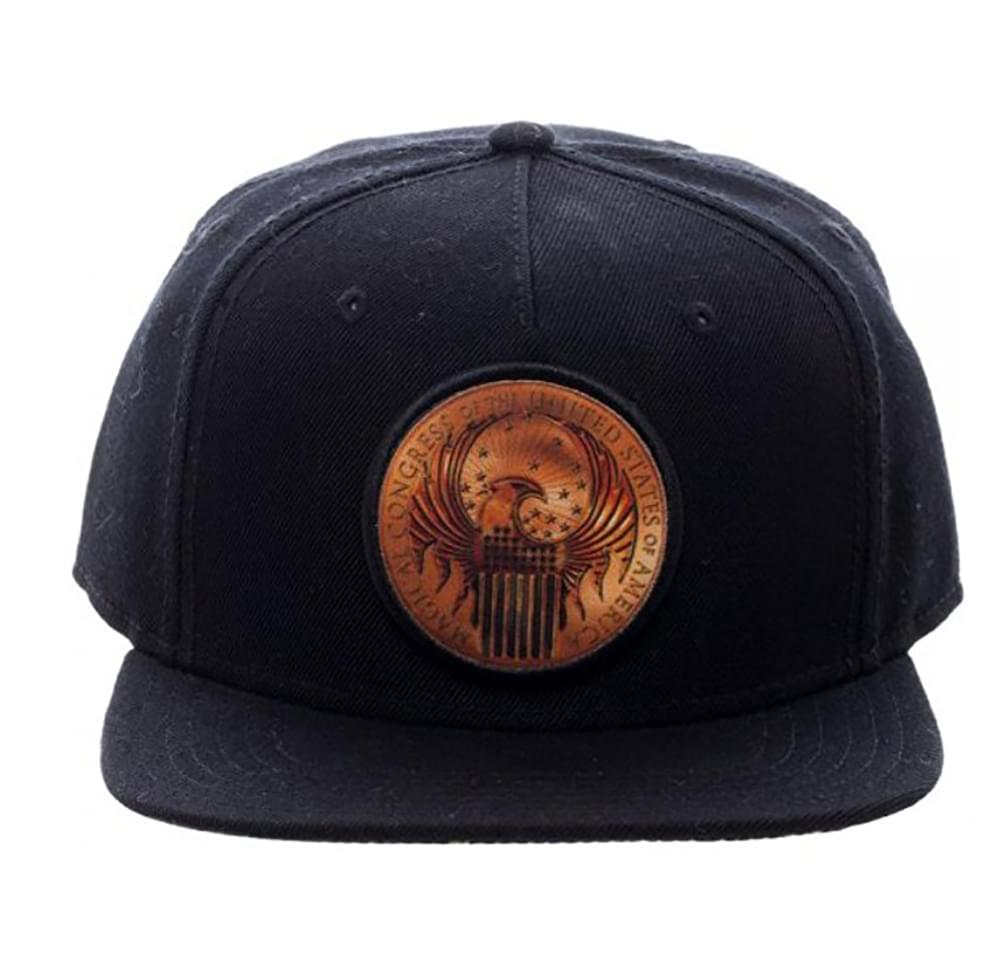 Fantastic Beasts and Where to Find Them Macusa Shield Black Snapback Hat