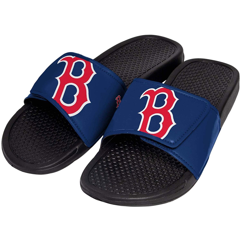 Boston Red Sox MLB Mens Shower Slide Flip Flops Large