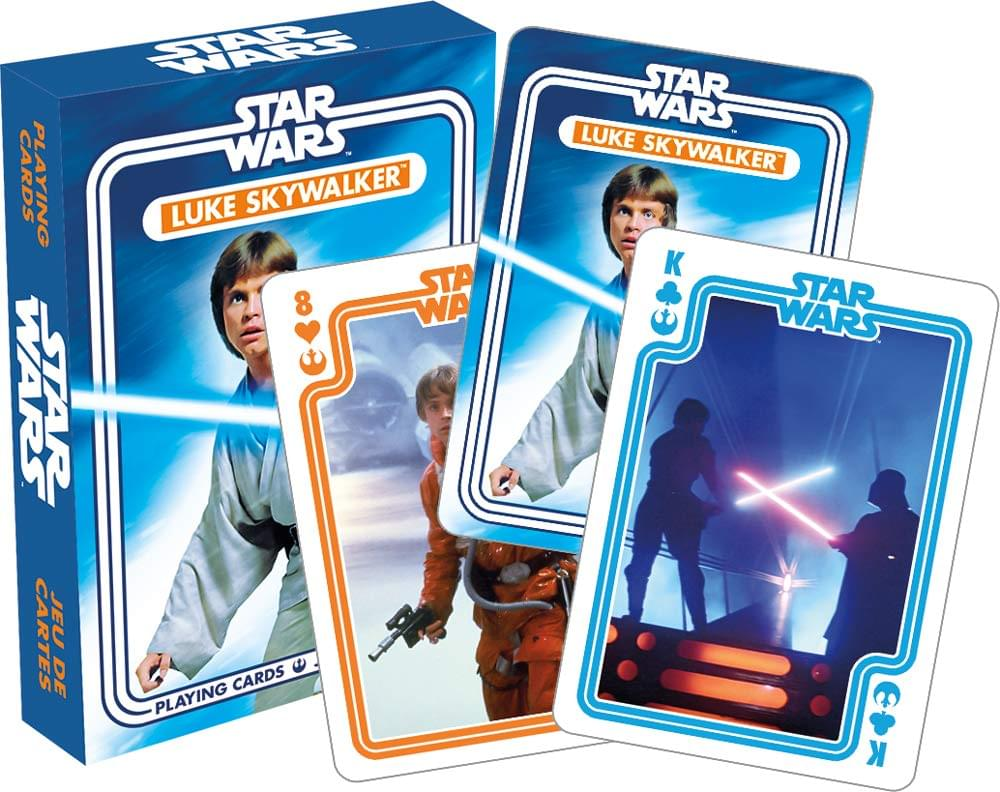 Star Wars Luke Skywalker Playing Cards