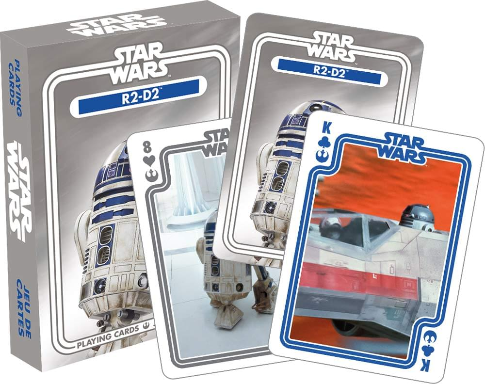 Star Wars R2-D2 Playing Cards