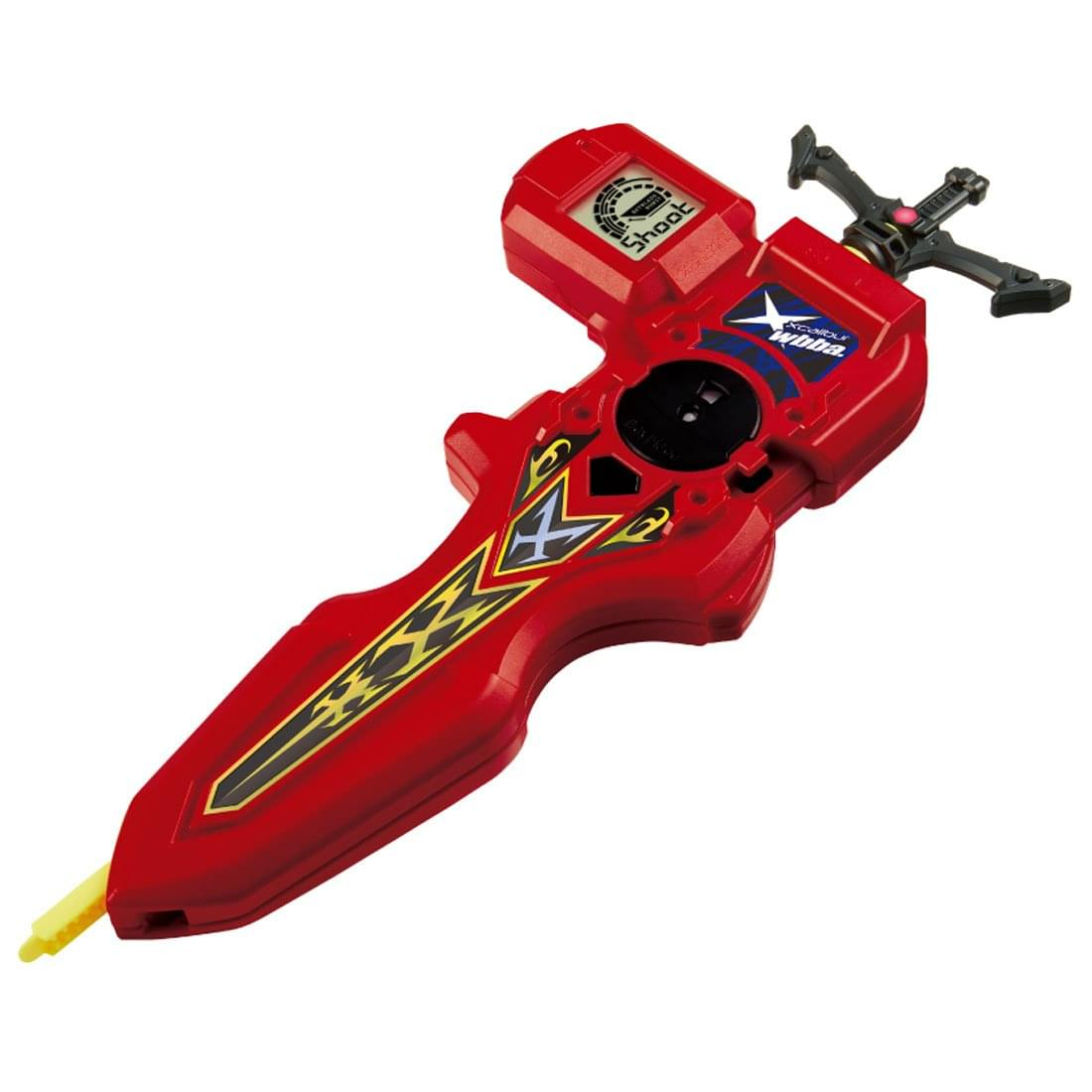 Beyblade Burst Takaratomy B-94 Digital Sword Launcher Red