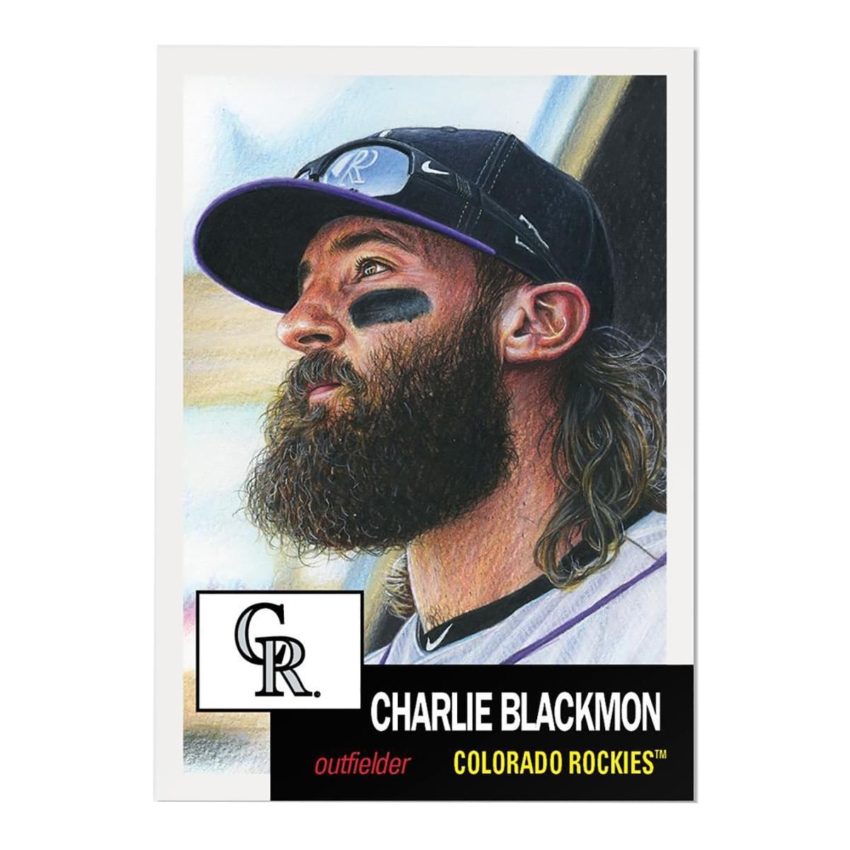 Colorado Rockies #31 Charlie Blackmon MLB Topps Living Set Card