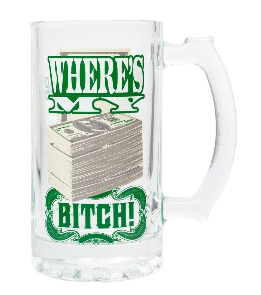Breaking Bad Where's My Money 16oz Beer Mug