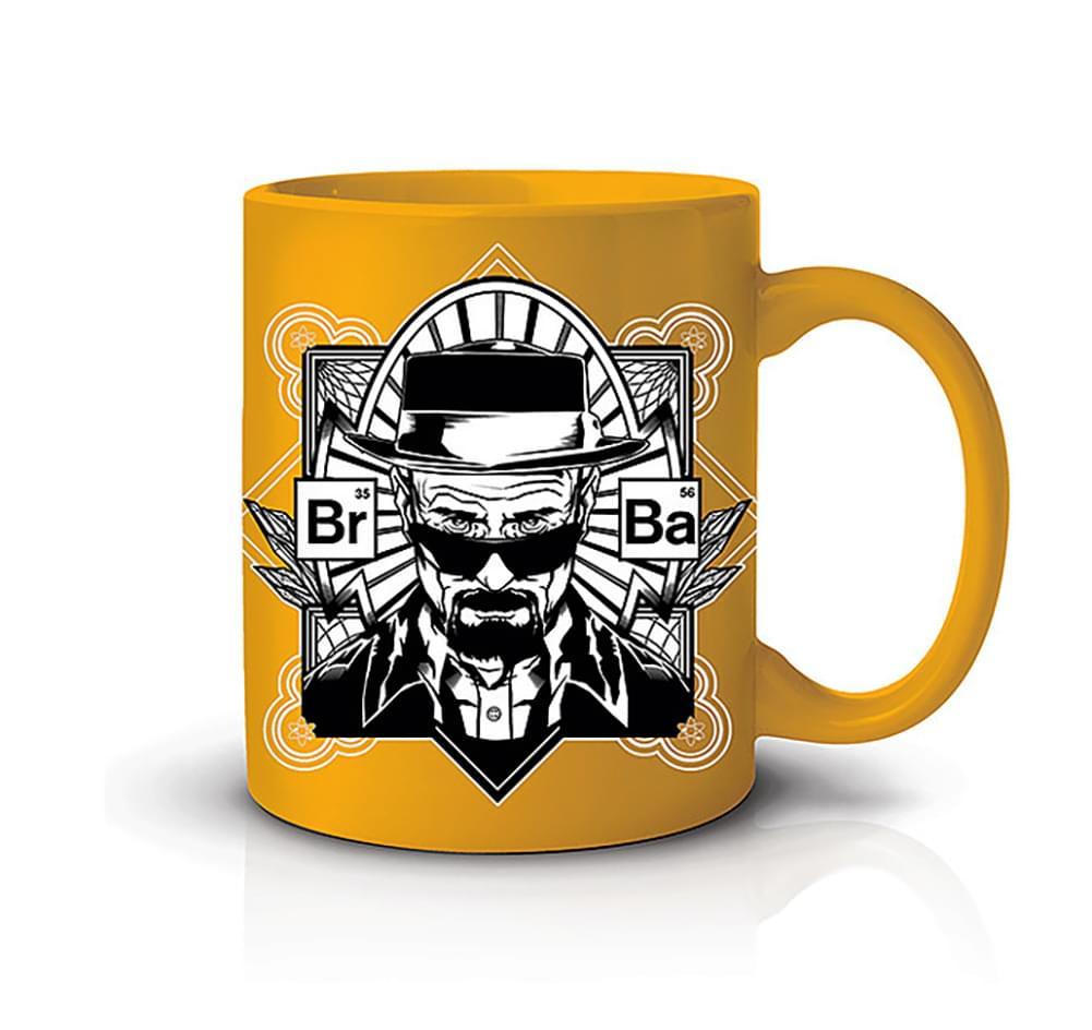 Breaking Bad Yellow Heisenberg 20oz Coffee Mug