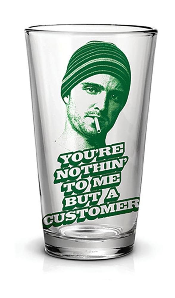 Breaking Bad Jesse Just A Customer 16oz Pint Glass