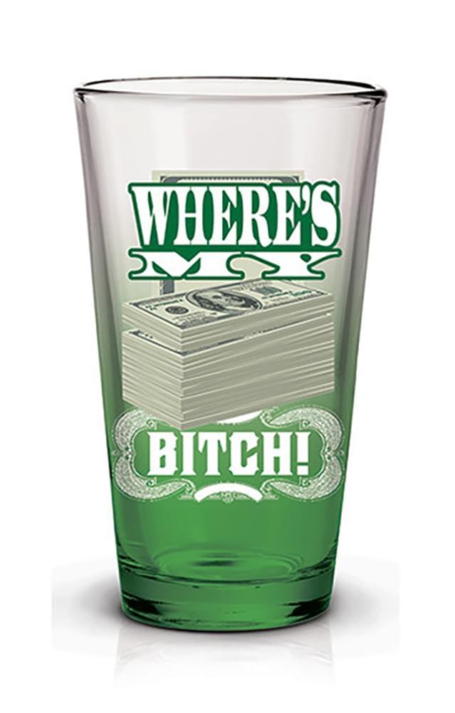 Breaking Bad Where's My Money 16oz Pint Glass