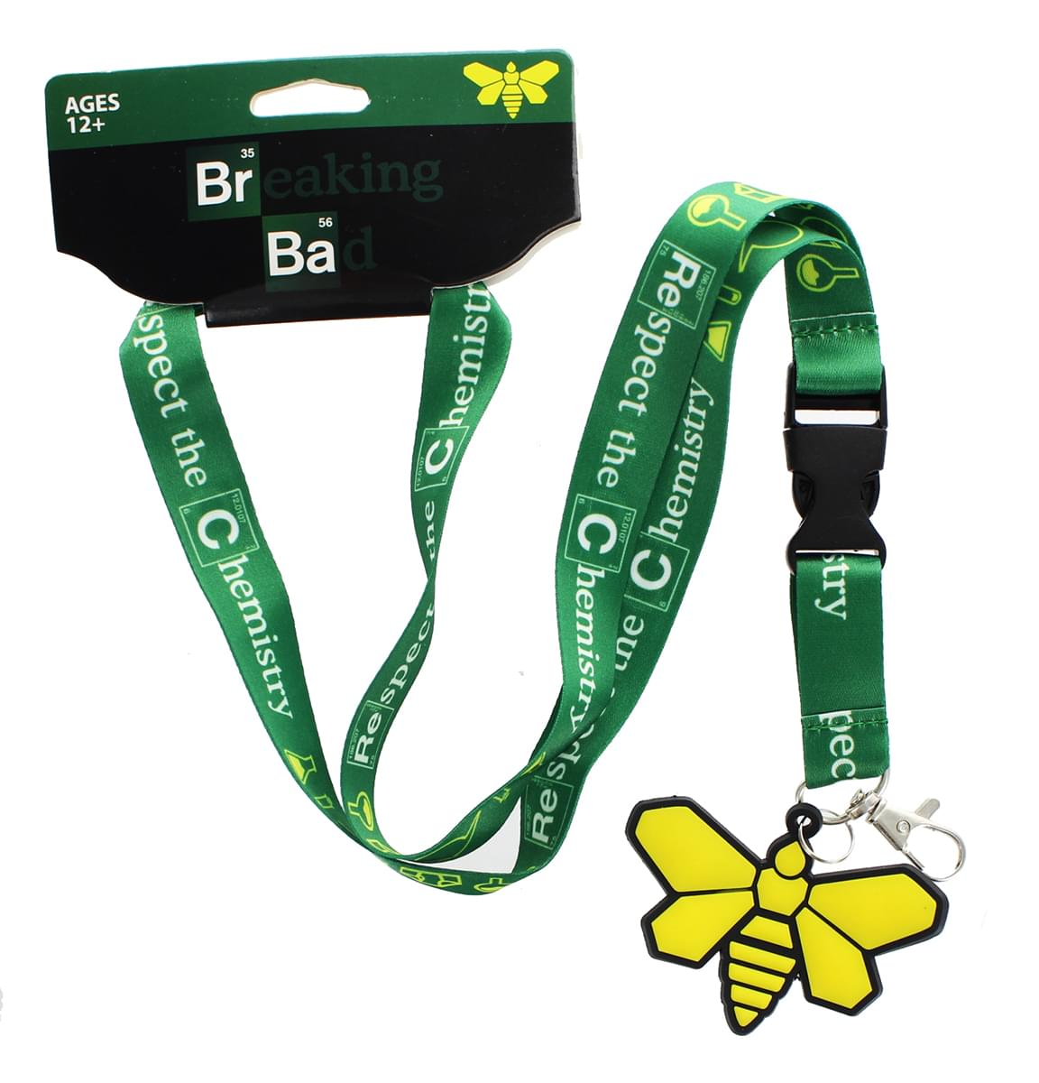 Breaking Bad Respect the Chemistry Lanyard