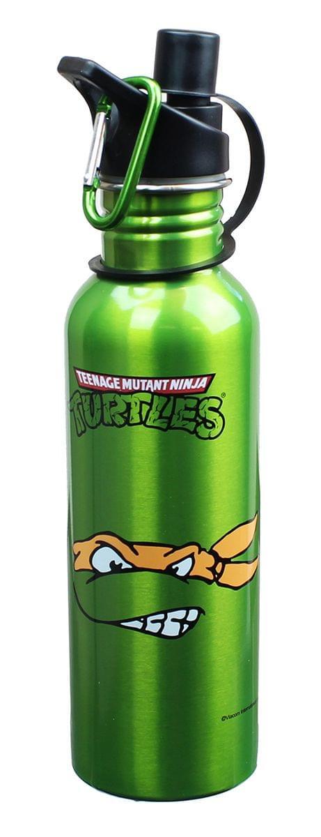TMNT Stainless Steel Water Bottle Michaelangelo