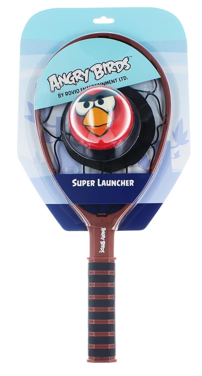 Angry Birds Super Launcher With Red Bird