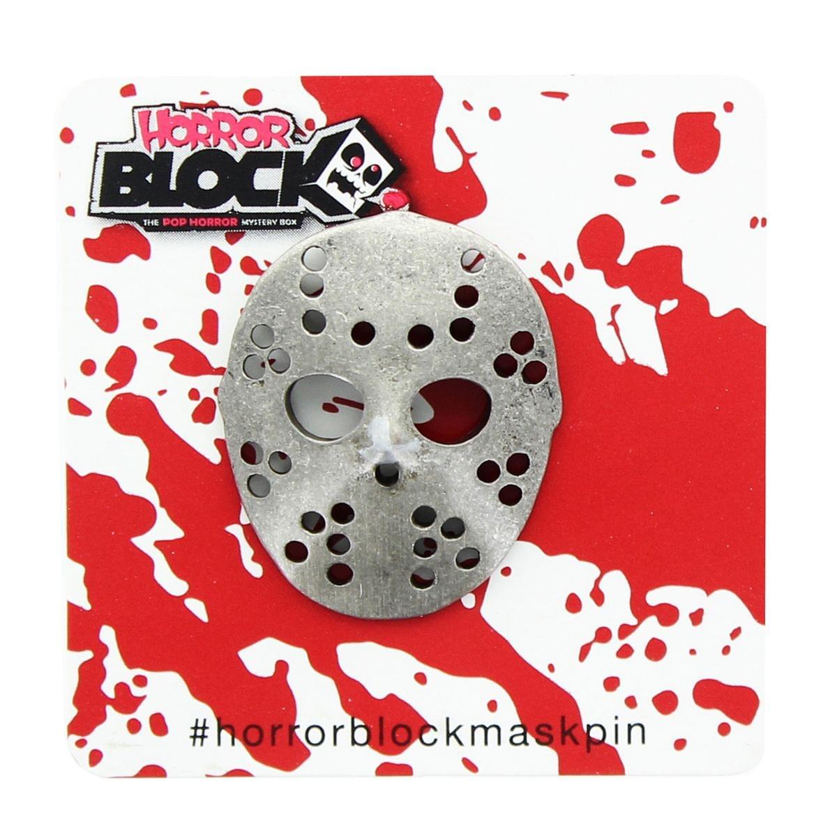 Friday the 13th Jason Voorhees Hockey Mask Pin