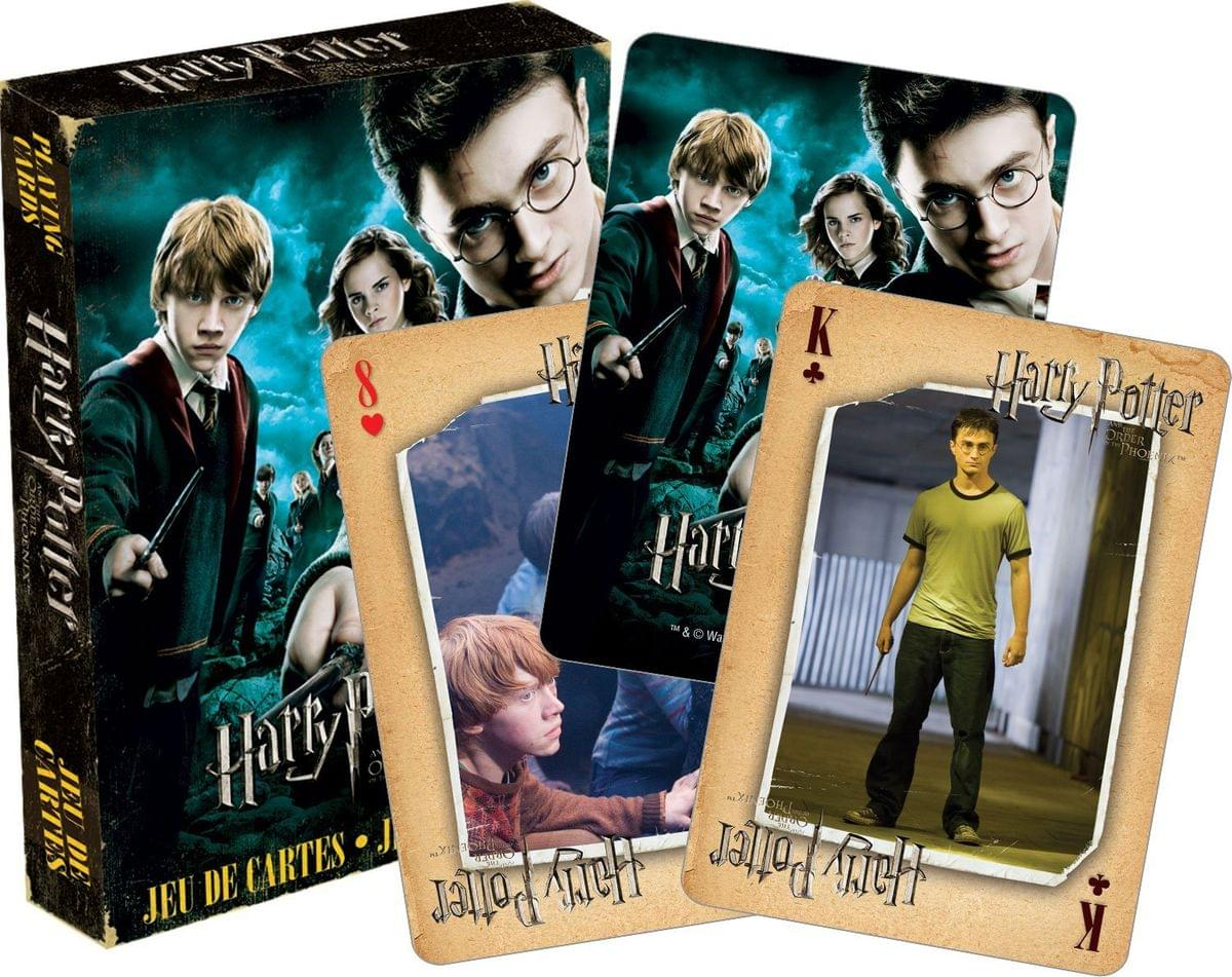 Harry Potter and the Order of the Phoenix Playing Cards