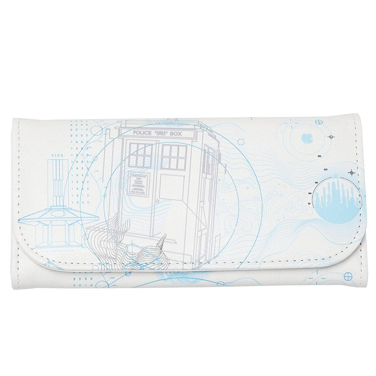 Doctor Who Embossed Women's Wallet: Future TARDIS